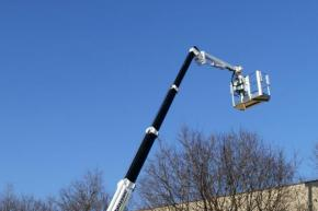 TELESCOPIC BOOM AND JIB IN SUPER RESISTANT STEEL